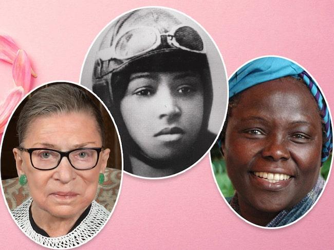 Den 8 mars firas Internationella kvinnodagen.