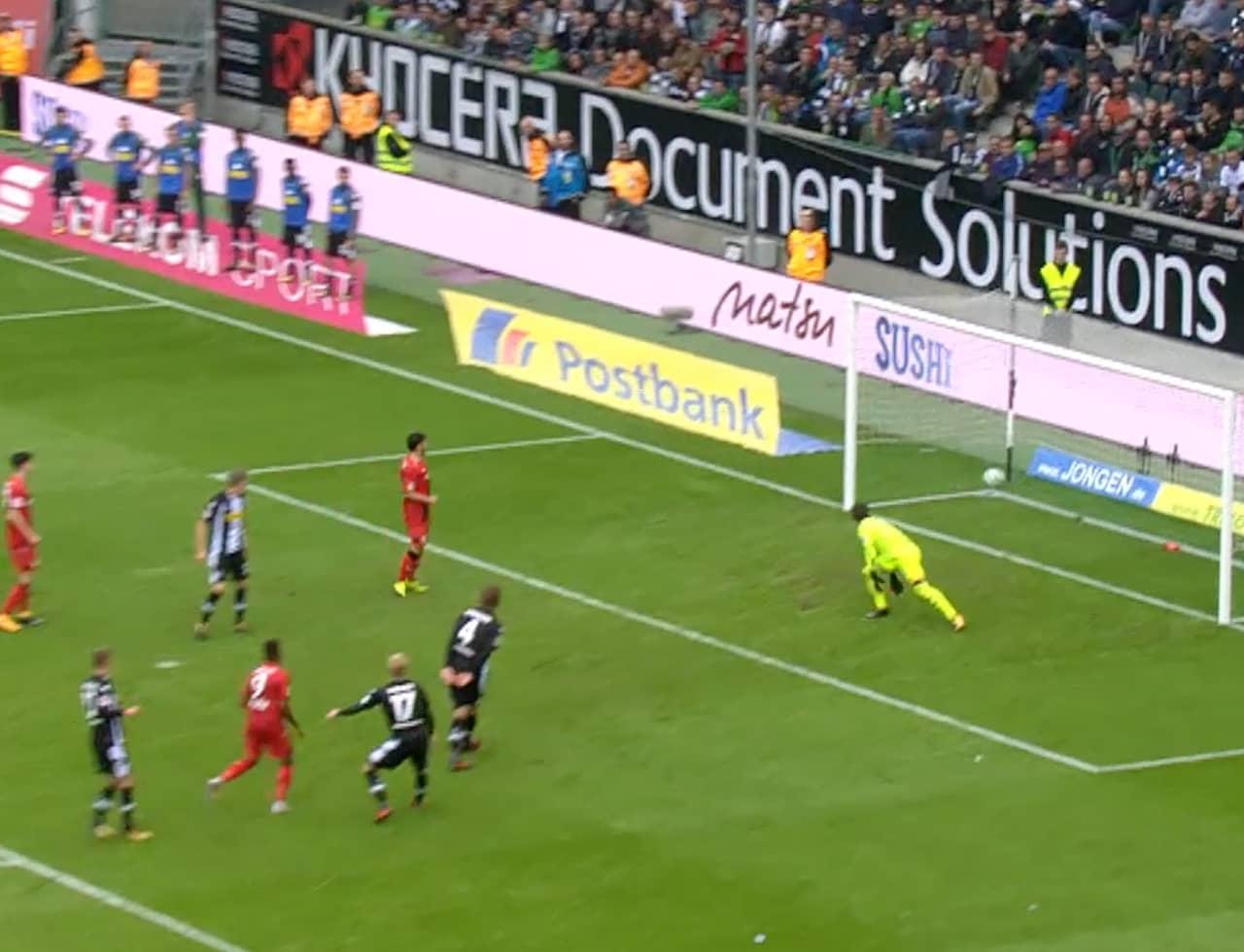 Höjdpunkter: Borussia M'gladbach-Bayer Leverkursen
