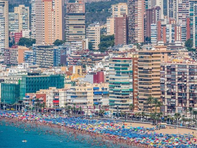 <span>Spanien satte i juni nytt rekord för antalet besökare.</span>