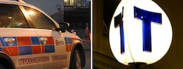 Man död efter att ha blivit påkörd av tunnelbanetåg