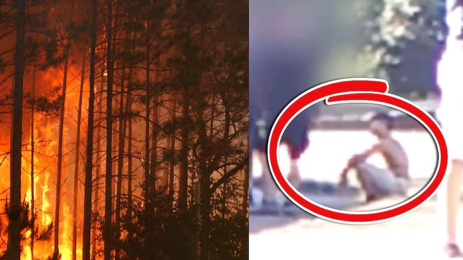 Den 2 september 2017 utbröt en skogsbrand i delstaten Oregon