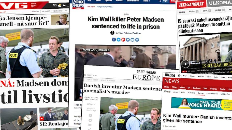 Så skrev världens medier om domen
