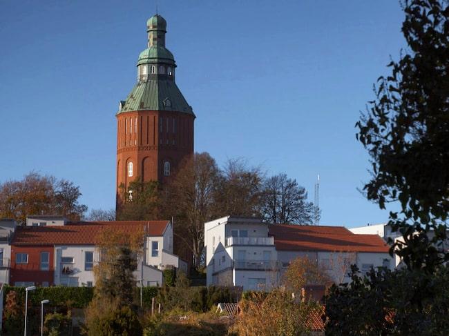 Vattentornet i Ystad stod klart 1915 och användes som vattentorn fram till och med 60-talet.