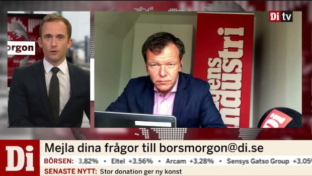 Di:s Ulf Petersson inför börsöppningen