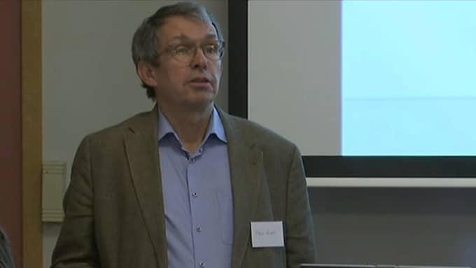 Det finns inte tillräcklig vetenskaplig underlag för att diagnosen skakvåld, säger Måns Rosén epidemiolog och tidigare direktör vid SBU. Foto: Expressen TV