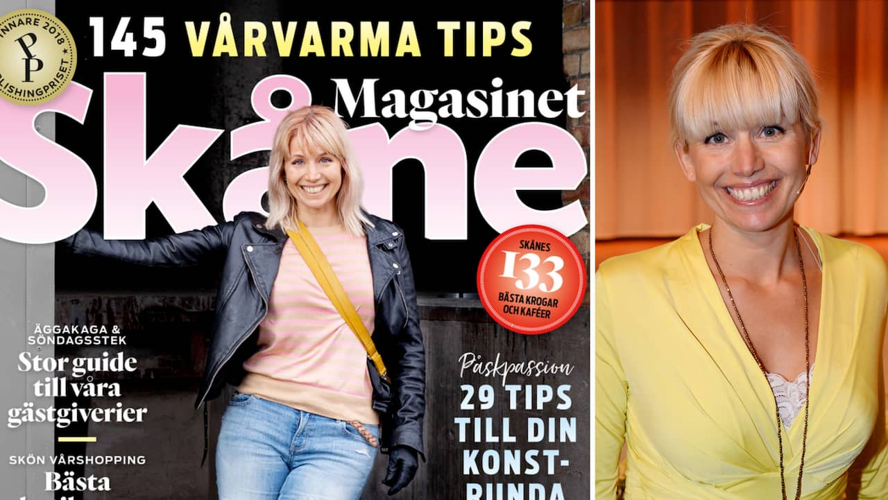 Tina Nordström om hur lite hon bryr sig om vad folk äter