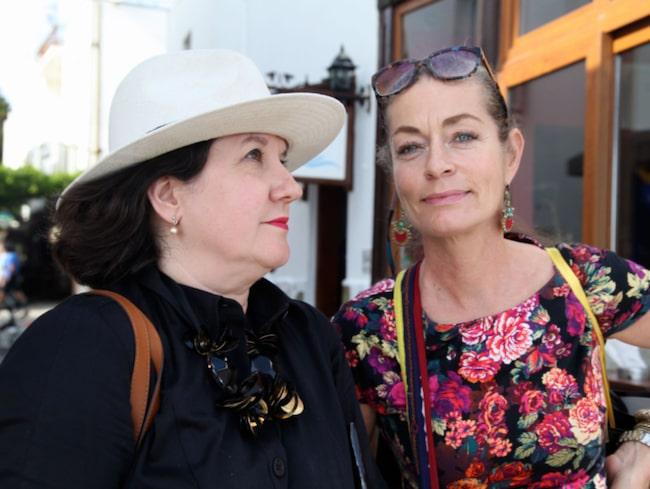"""<span>Karina Ericsson Wärn och Camilla Thulin driver bloggen """"Oss granntanter emellan"""" där de skriver om stil, mat, samtida konst, resor och mode.<br></span>"""