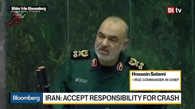 Världens Affärer: Iran erkänner att landets militär skjöt ner planet