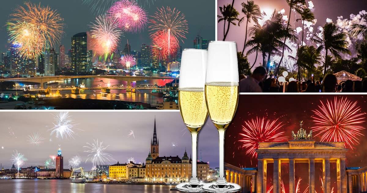 fira nyår utomlands