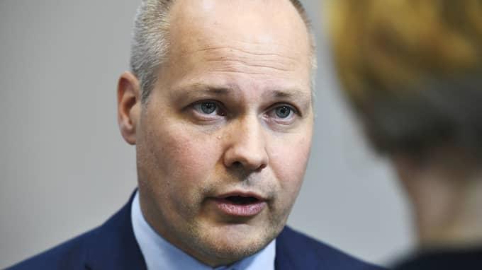 Morgan Johansson, justitie- och inrikesminister (S). Foto: CLAUDIO BRESCIANI/TT / TT NYHETSBYRÅN