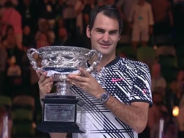 Federer vann Australian Open efter superdrama