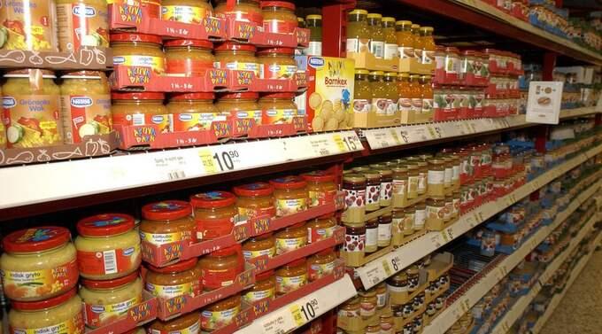 Vissa barnmatsprodukter kan innehålla höga halter av mangan, arsenik och kadmium visar en svensk undersökning. Bilden har inget direkt samband med artikeln. Foto: Roger Vikström