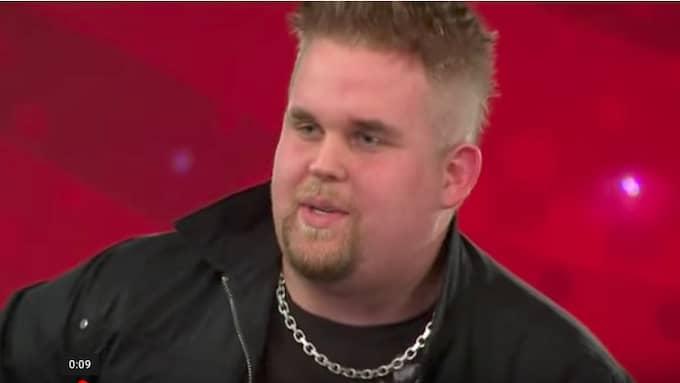 Chris Kläfford när han var med i Idol år 2010