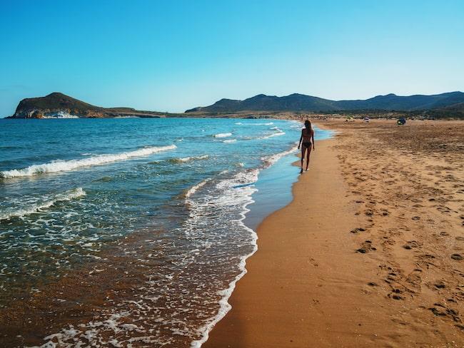 Nijar Natural Park i Andalusien.