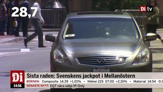 Dagens Siffra: Svenskens jackpot i Mellanöstern