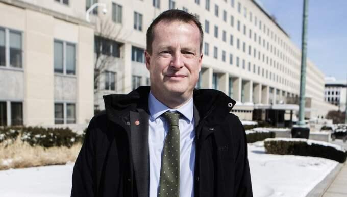 Anders Ygeman. Foto: Axel Öberg