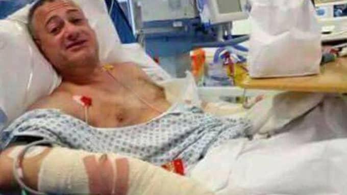 Roy Larner knivhöggs fem gånger när gjorde motstånd mot terroristerna. Foto: Twitter