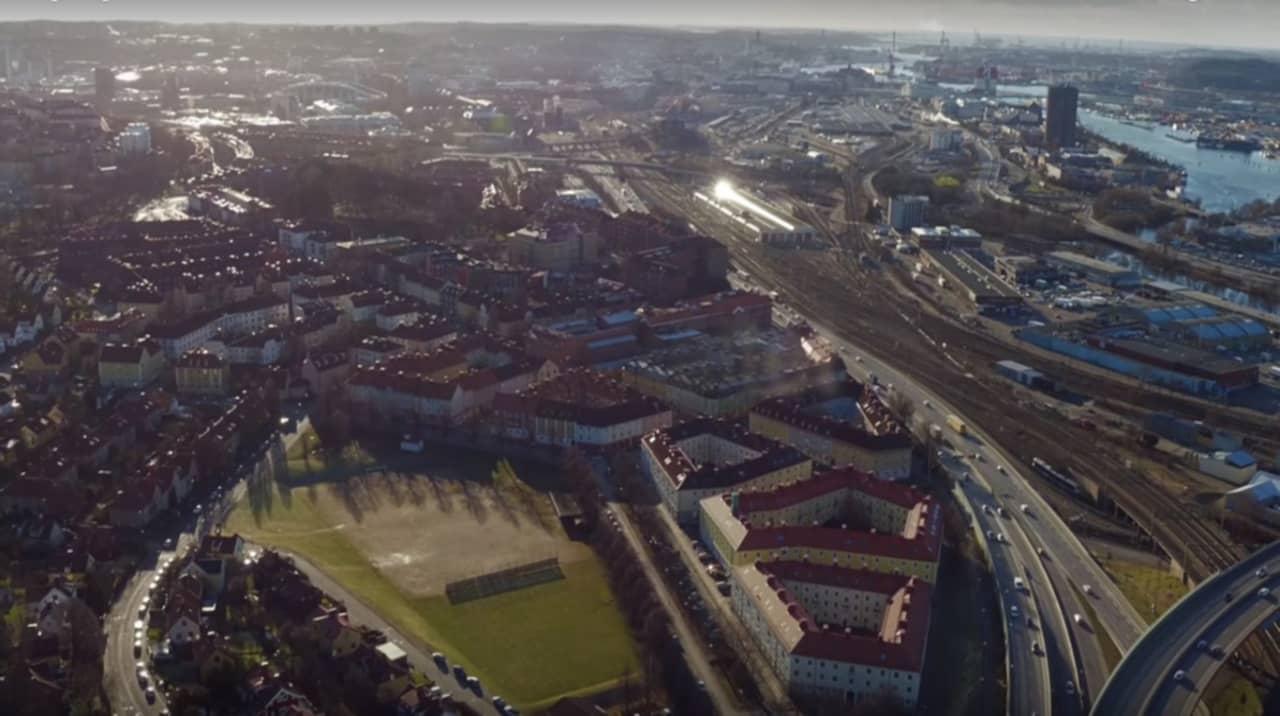 privat lagd stor nära Göteborg