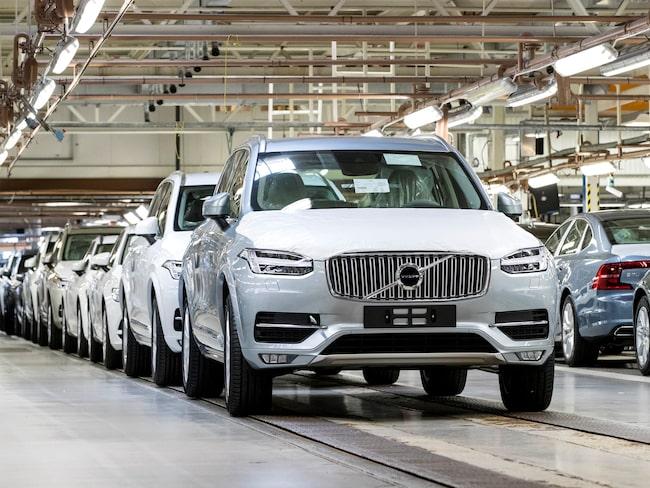 Volvo har byggt bilar med bromsproblem.
