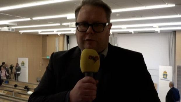 """Fredrik Sjöshult: """"Indikerar att det tas på högsta allvar"""""""