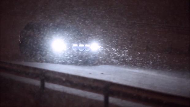 Flera olyckor efter att snöovädret dragit in