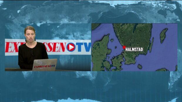 Flera skadade  i allvarlig trafikolycka i Halmstad