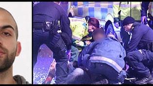 Man efterlyses för knivdåd i Malmö