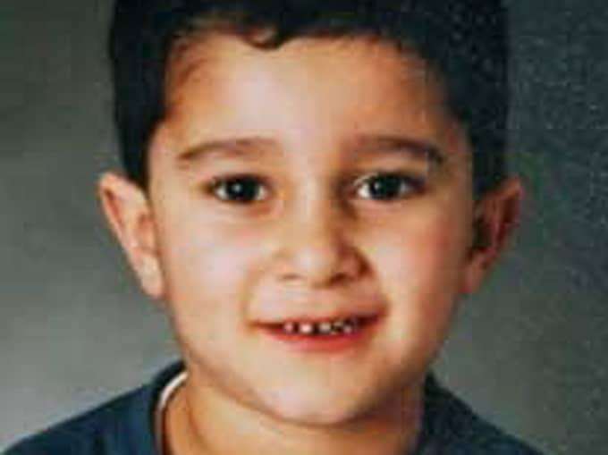 Mohamad Ammouri, 8, dödades på Åsgatan i Linköping den 19 oktober 2004. Foto: Privat.
