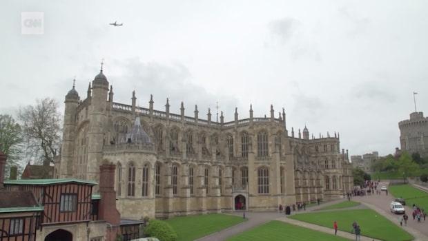 Så ser det ut i kapellet där prins Harry och Meghan vigs