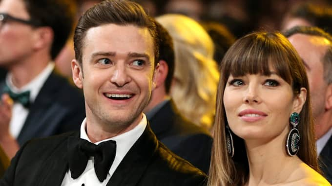 Justin Timberlake och Jessica Biel. Foto: Christopher Polk / ALL OVER PRESS GETTY IMAGES