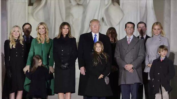 Medlemmarna i familjen Trump