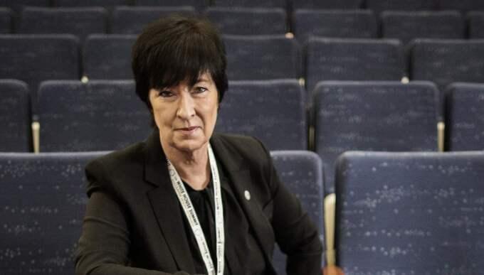 """Mona Sahlin är kritisk mot debatten. """"Man är för okunnig och för feg för att utmana den extrema tolkning av en religion som IS bygger på."""" Foto: Axel Öberg"""