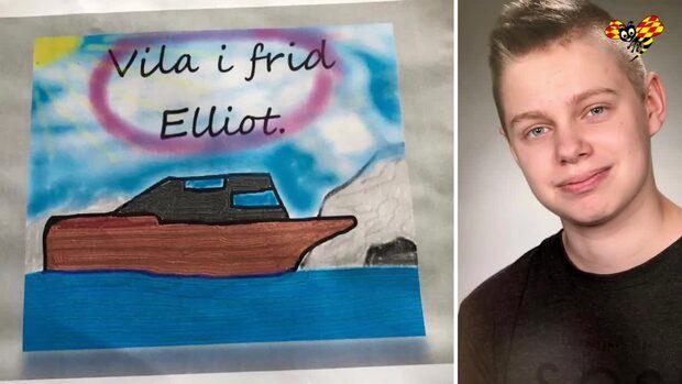Elliot, 18, hade aggressiv cancer – läkare fann inte sjukdomen i tid
