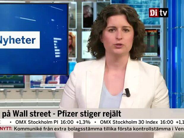 Di Marknadsnytt 16.00: Börsen går mot en stängning på dagshögsta