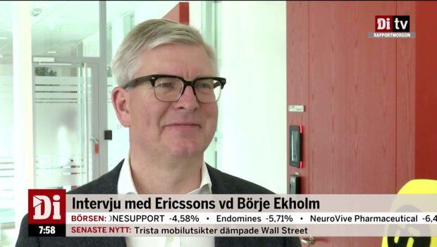 """Börje Ekholm: """"Väl på väg mot de mål vi satt upp för 2020"""""""