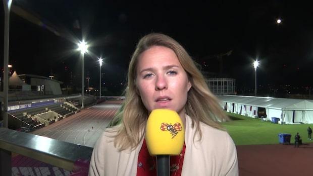 Expressens reporter på plats i London berättar om Armand Duplantis insats under hårdagens stavfinal