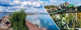 Maxa bilresan med barn Stockholm–Göteborg