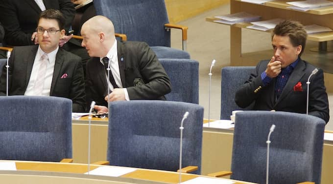 SD-ledamoten William Petzäll, som tillhört Sverigedemokraternas yttersta topp, blir politisk vilde. Foto: Stefan Forsell