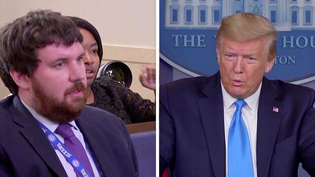 """Stora förvirringen när Trump ändrar sig: """"Det sa jag inte"""""""