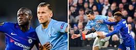 Halvleken gav eko  i fotbolls-Europa
