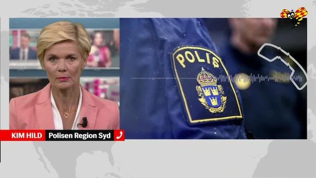 Polisen: Bara tur att ingen skadades