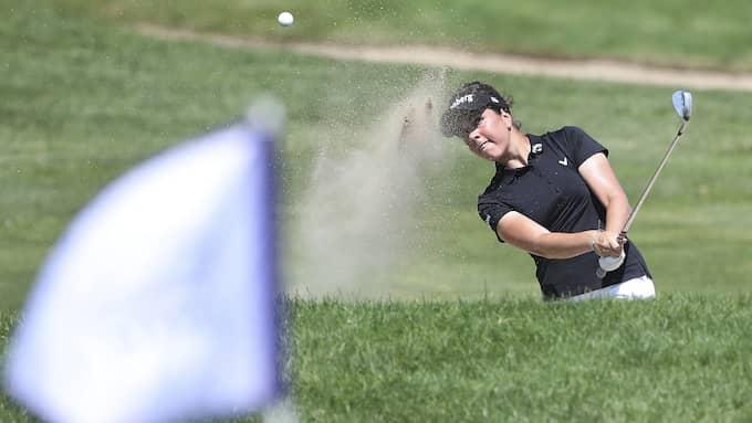 Golf är numera är en skattefri friskvårdsförmån, anser Skatterättsnämnden Foto: JIM MATTHEWS / AP TT NYHETSBYRÅN