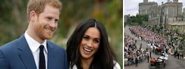 Prins Harry & Meghan Markle avslöjar bröllopsdatumet