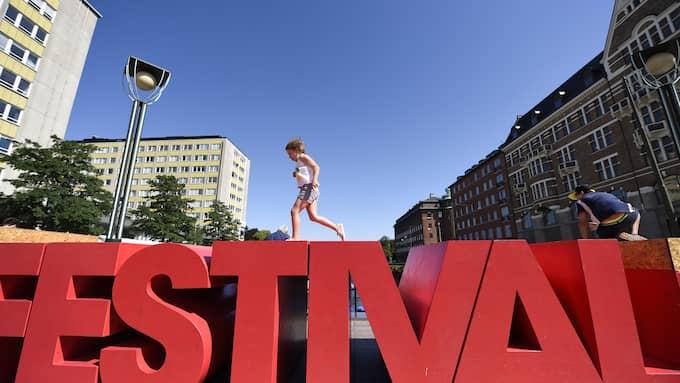 Malmöfestivalen kan vässas till, tycker Torbjörn Tegnhammar (M). Foto: JENS CHRISTIAN/TOPNEWS.SE / EXPRESSEN/KVÄLLSPOSTEN