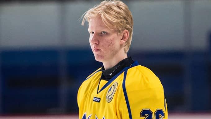 I sommar pekar det mesta på att Rasmus Dahlin, 18, går som etta när Buffalo får välja först. Foto: PETTER ARVIDSON / BILDBYRÅN