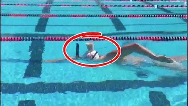OS-mästaren gör det otroliga – med chokladmjölk på huvudet