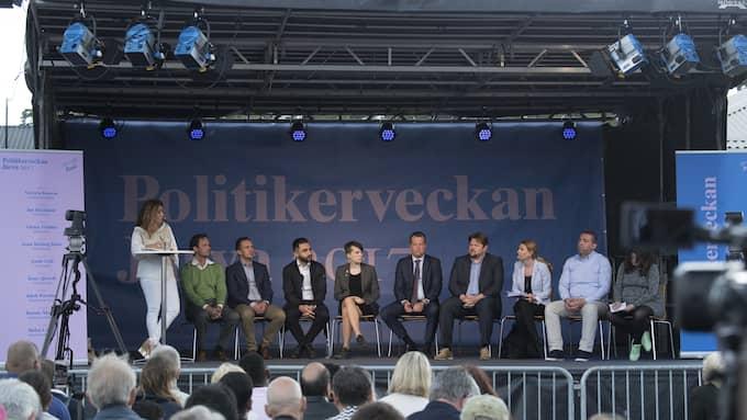 Politikerveckan i Järva. Foto: SVEN LINDWALL