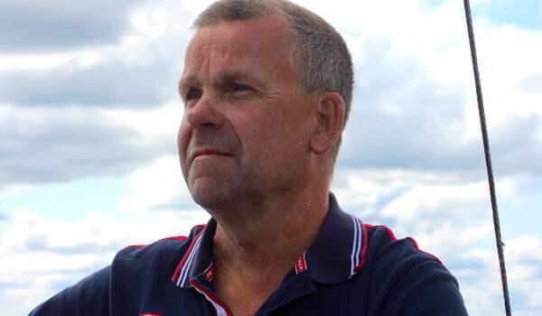 Lars-Göran Nyström, sjösäkerhetssamordnare för båtlivet på Transportstyrelsen. Foto: Pressbild