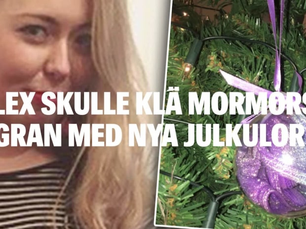 "Alex ""kinky"" fynd i mormoderns julkula"