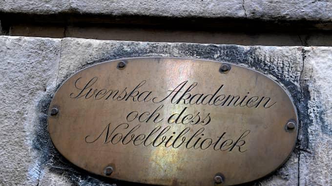 Svenska Akademien kritiseras. Foto: JANERIK HENRIKSSON/TT